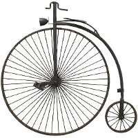 30 Inch Metal Bicycle Wall Decor