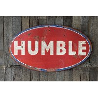 Distressed Red Humble Wall Art