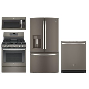 ... 4PC SLATE GAS PACKG GE Slate Kitchen Appliance Package