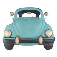 Metal Beetle Car Wall Decor