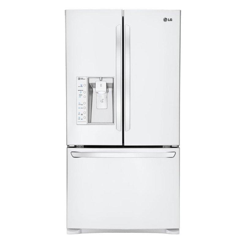 LFXS29626W LG French Door Refrigerator   36 Inch White
