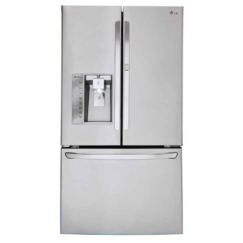 LFXS30766S LG French Door Refrigerator   36 Inch Stainless Steel