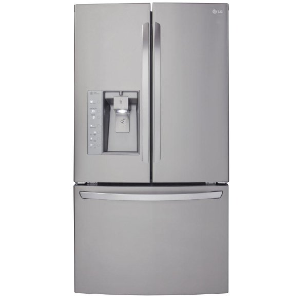 LFXC24726S LG French Door Refrigerator   36 Inch Stainless Steel Counter  Depth