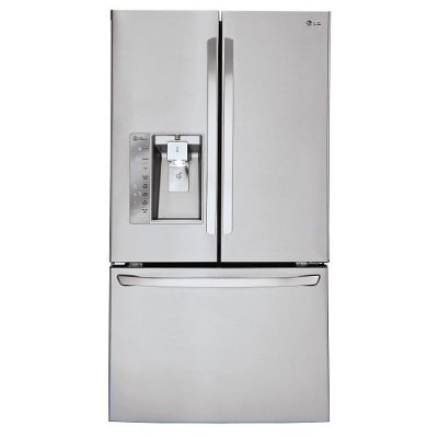 LFXS30726S LG French Door Refrigerator - 36 Inch Stainless Steel