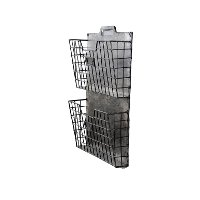 Metal Wall Double File Holder