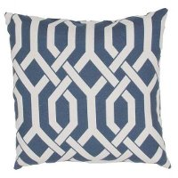 VER18-VERANDAPLLW Veranda Navy 20 Inch Indoor/Outdoor Throw Pillow