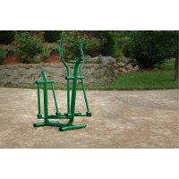 65-1770 Green Outdoor Elliptical