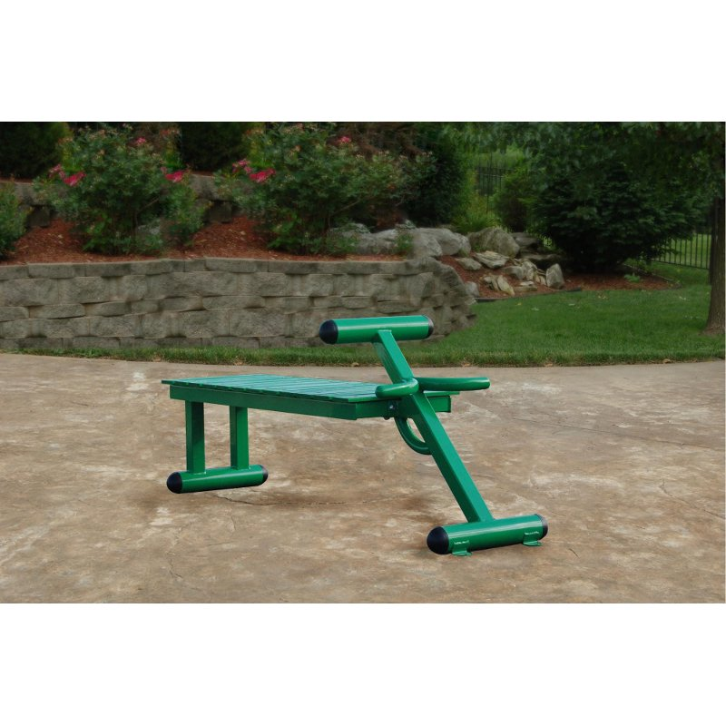 Outdoor Fitness Workout Bench