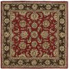 8' Square Salsa Red Area Rug - Tara
