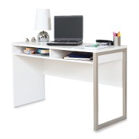 7350070 Pure White Small Desk - Interface