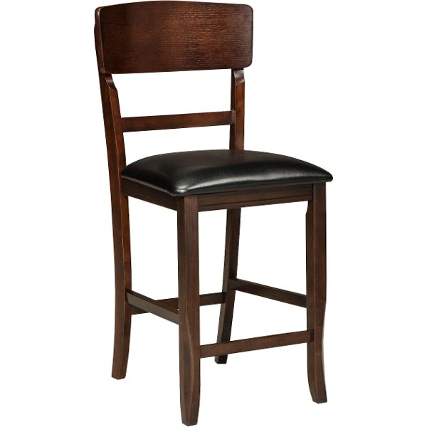 ... Dark Walnut 24 Inch Counter Height Stool   Hampton