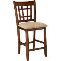 Mission Dark 24 Inch Counter Height Stool