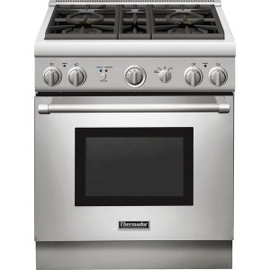 prg304gh thermador 30 inch stainless steel gas range