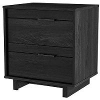 3237060 Modern Gray Oak Nightstand - Fynn