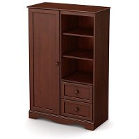 3546038 Cherry Armoire with Drawers - Savannah