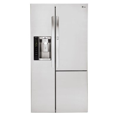 LSXS26366S LG 26.1 cu. ft. Side by Side Door-in-Door Refrigerator - 36 Inch Stainless Steel