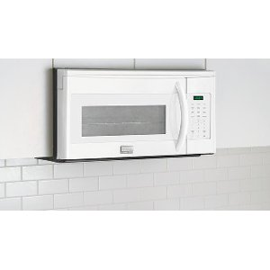 Fgmv175qw Frigidaire 1 7 Cu Ft Over The Range Microwave Oven