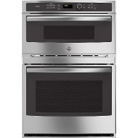 PT9800SHSS GE Profile Double Wall Oven with Microwave - Stainless Steel