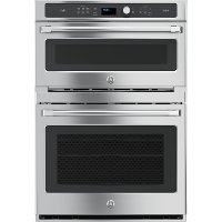 CT9800SHSS GE Cafe Double Combo Oven with Microwave - Stainless Steel