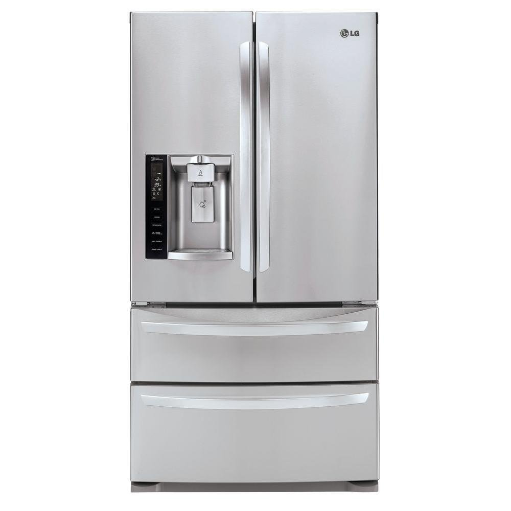 sharp 624l french door refrigerator. lg 36 stainless steel 27 cu ft french door refrigerator rc sharp 624l