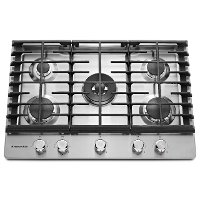 KCGS550ESS KitchenAid 5-burner Gas Cooktop - Stainless Steel