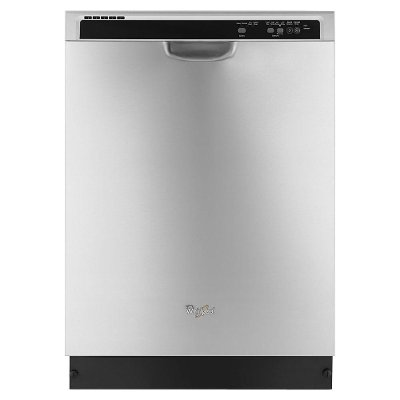 WDF520PADM Whirlpool Built In Dishwasher with Sensor Control - Stainless Steel