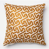 Gold 18 Inch Throw Pillow