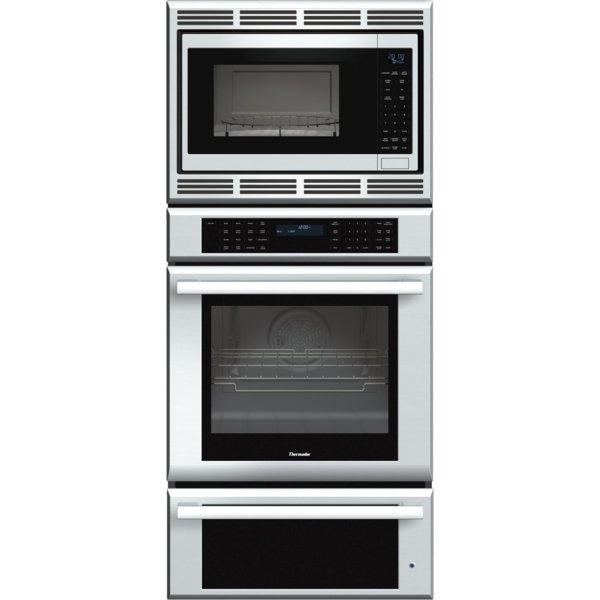Medmcw71js Sscombo Thermador 27 Inch Masterpiece Series Triple Oven Convection Microwave And
