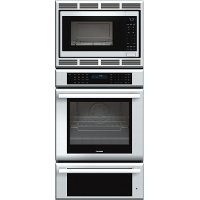 MEDMCW71JS-SSCOMBO Thermador 27 inch Masterpiece Series Triple Oven (oven, convection microwave and warming drawer) MEDMCW71JS