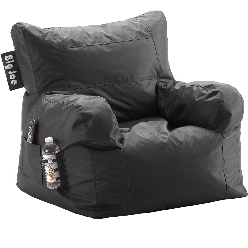Big Joe Black Bean Bag Chair