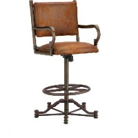 Baltimore 26 Inch Swivel Counter Height Stool