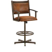 Humphrey 30 Inch Swivel Bar Stool