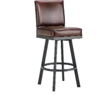 Pasadena 26 Inch Swivel Counter Height Stool