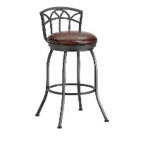 Fiesole Low Back Counter Height Stool
