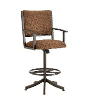 Executive 26 Inch Swivel Counter Height Stool