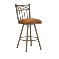 Alexander 26 Inch Swivel Counter Height Stool