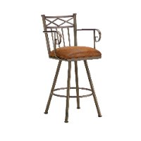 Alexander 26 Inch Counter Stool with Arms
