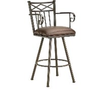 Alexander 26 Inch Counter Height Stool with Arms