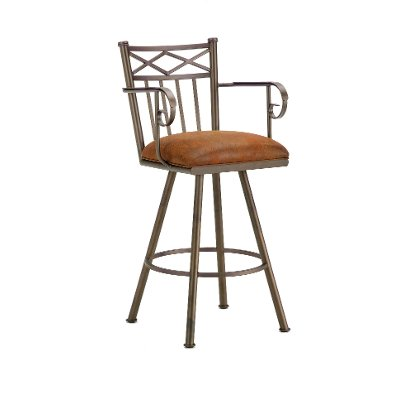 Alexander 30 Inch Bar Stool With Arms Rc Willey Furniture Store