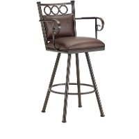 Waterson 26 Inch Counter Stool with Arms