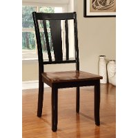 Black and Cherry Dining Room Chair - Dover Collection