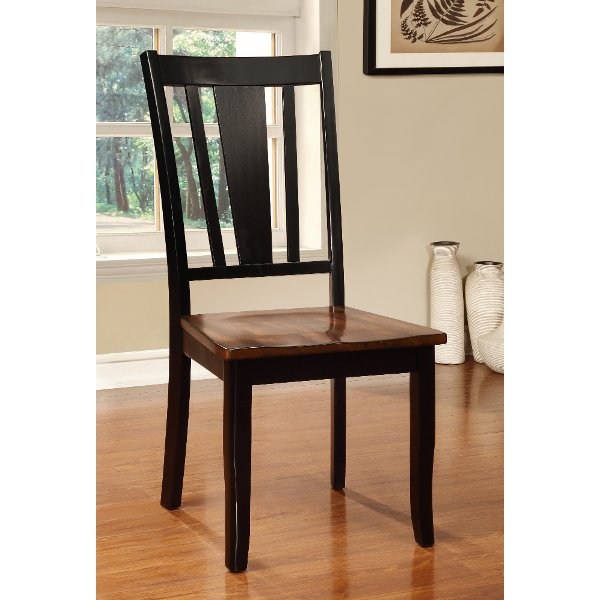Black And Cherry Dining Room Chair Dover Collection