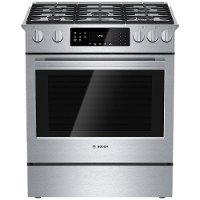 HGI8054UC Bosch Gas Range - 4.8 cu. ft. Stainless Steel