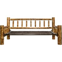 MWGCDBNT Log Twin Daybed - Glacier Country