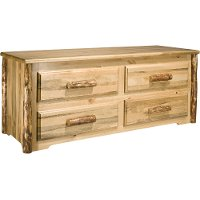 MWGCSC 4-Drawer Chest - Glacier Country