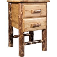 MWGCN2DN 2-Drawer Nightstand - Glacier Country
