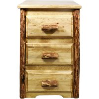 MWGCN3D 3-Drawer Nightstand - Glacier Country