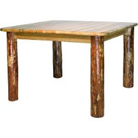 MWGCDT4PS Square Dining Table - Glacier Country