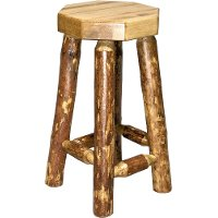 MWGCBN Backless Barstool - Glacier Country
