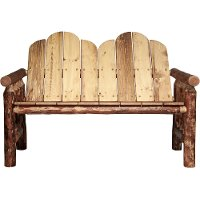 MWGCDB Pine Deck Bench - Glacier Country